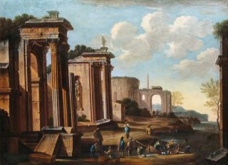 Companion Pieces: Roman Ruins by the Coast