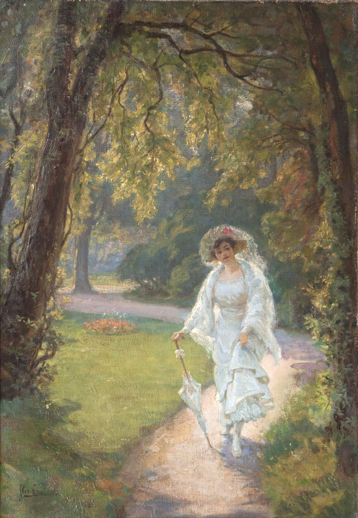Lady in Park