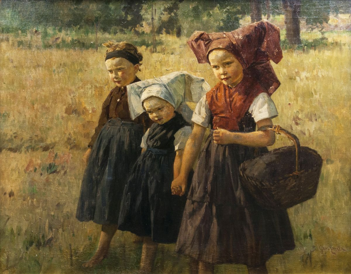 Girls from the Spreewald Region