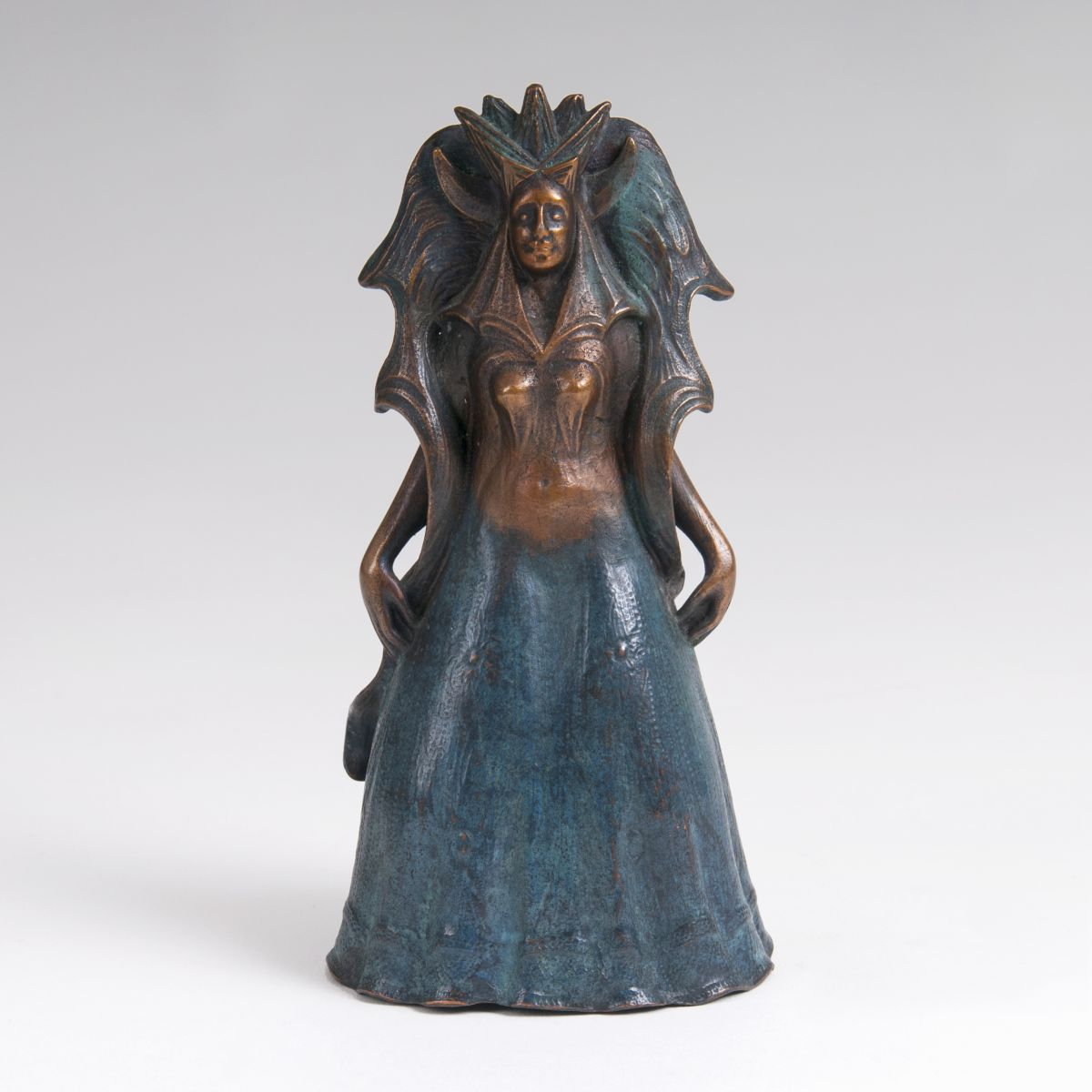 A Bronze Sculpture 'The Queen of the Night'