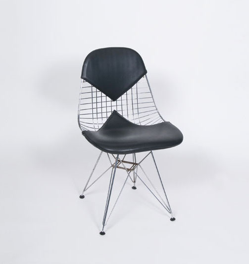 Vintage Wire Chair DKR