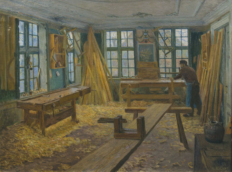 Carpenter's Workshop in Billwärder