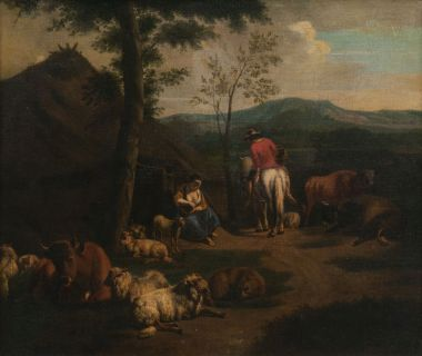 Herdsmen with their Animals