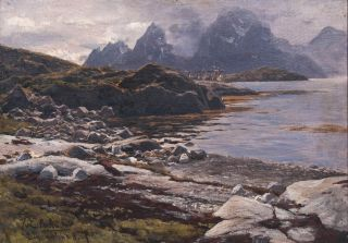Digermulen on Lofoten