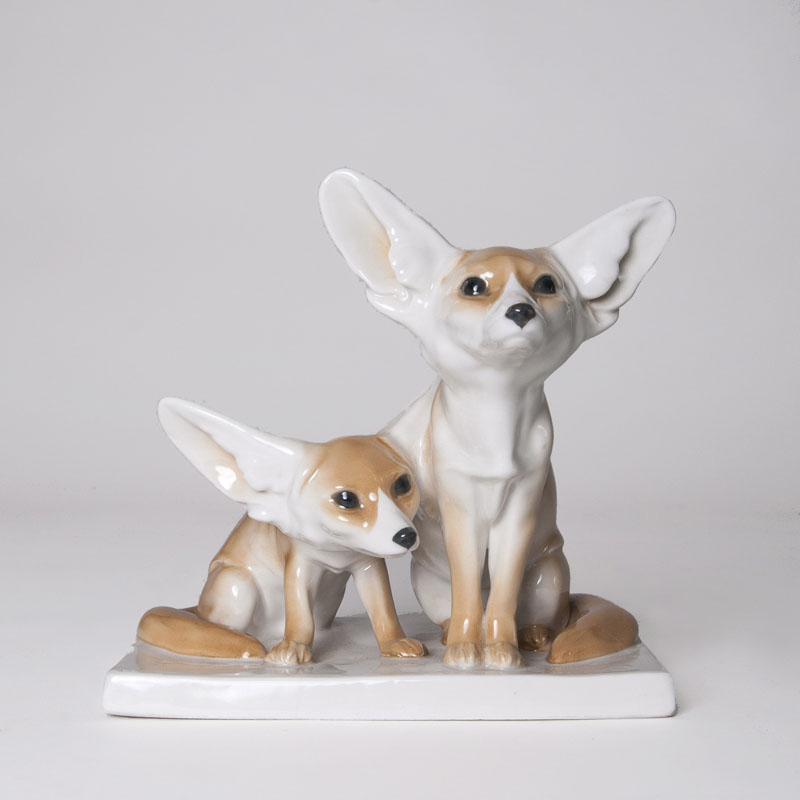 An animal group 'Two Fennecs'