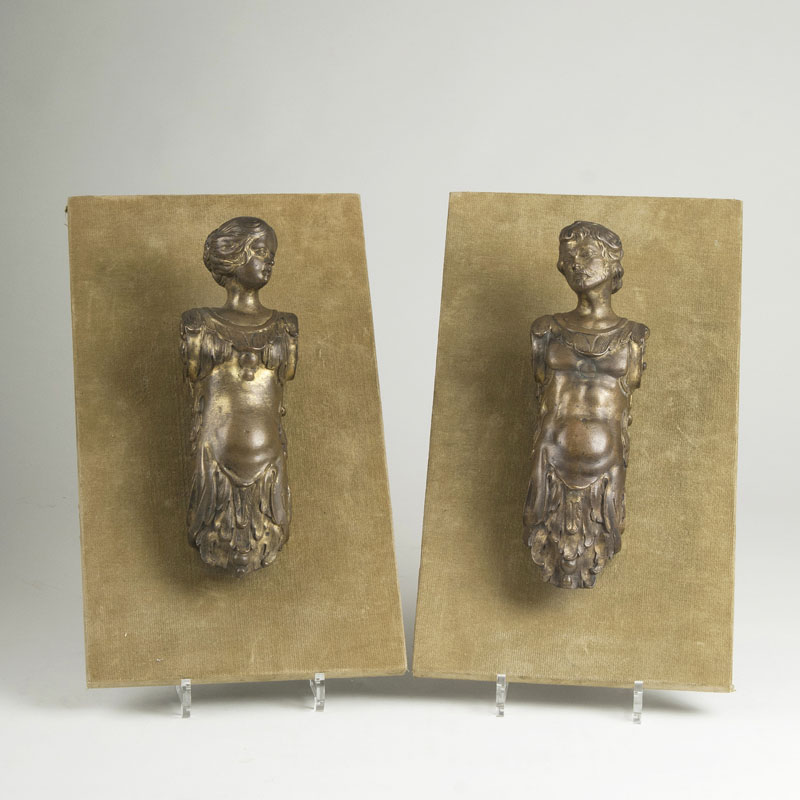 A Pair of Rare Early-Baroque Figures