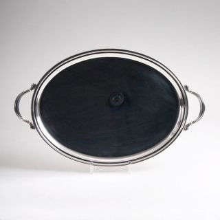 An Oval Handled Tray