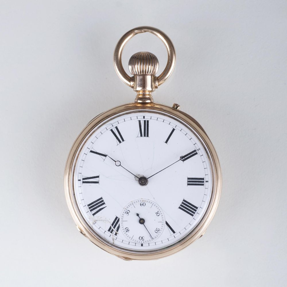 A pocket watch - formerly a present of Emporer Wilhelm I.