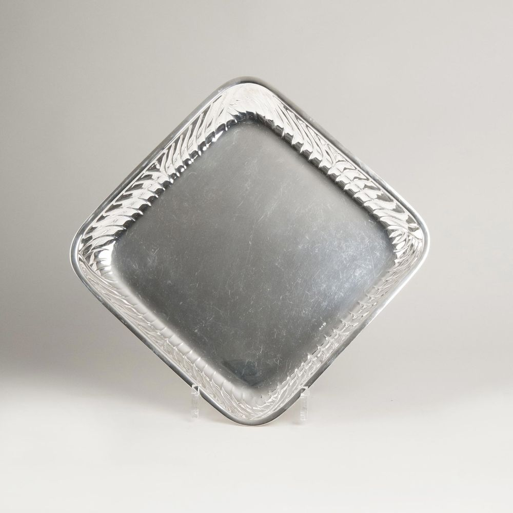 A Square Serving Tray