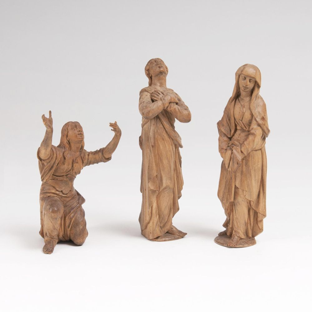 Three Figures from a Calvary Group