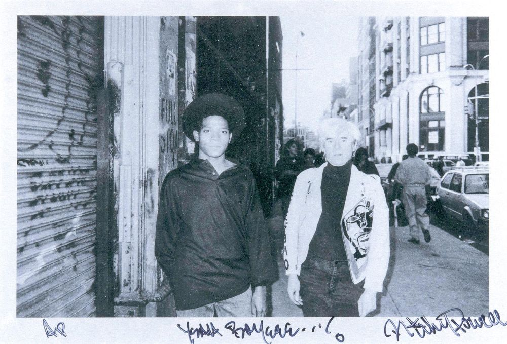 Basquiat und Warhol, New York 1985