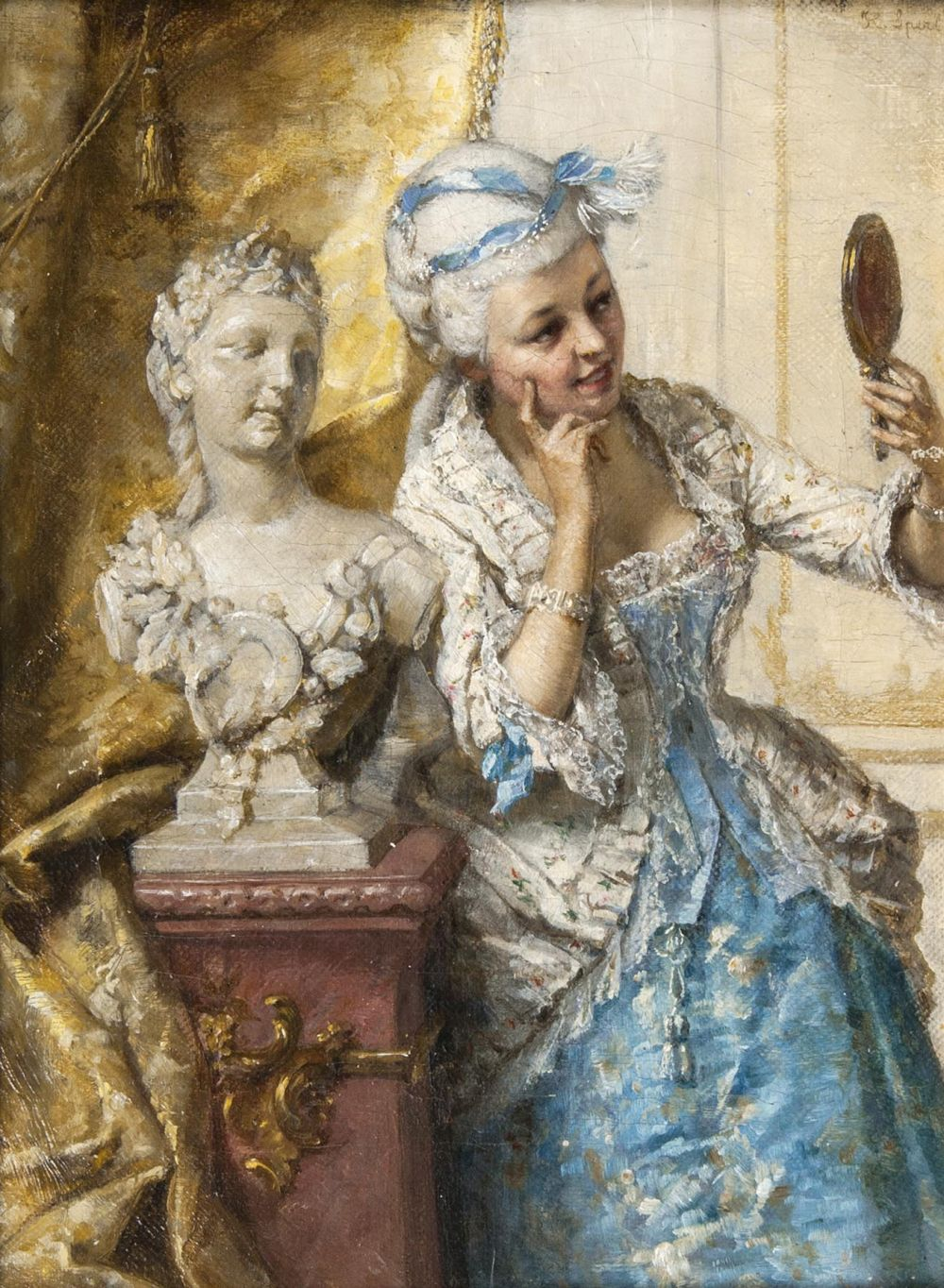 Lady with Mirror
