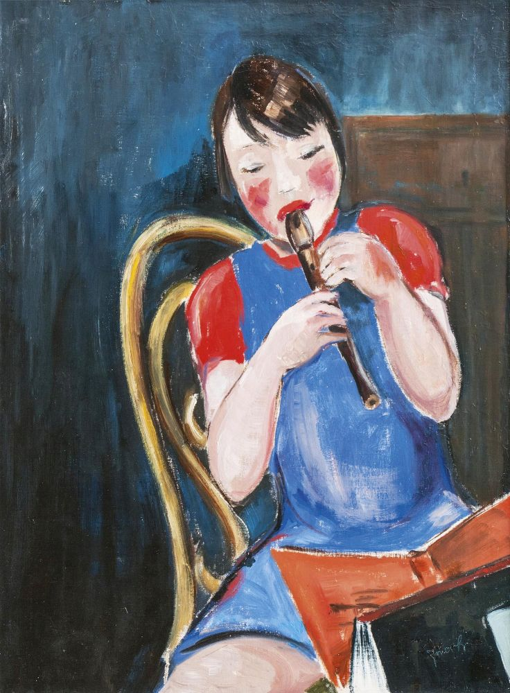 Child with a Flute