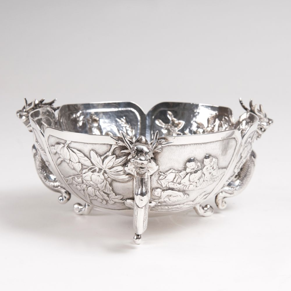 A Bowl with Dragon Handles