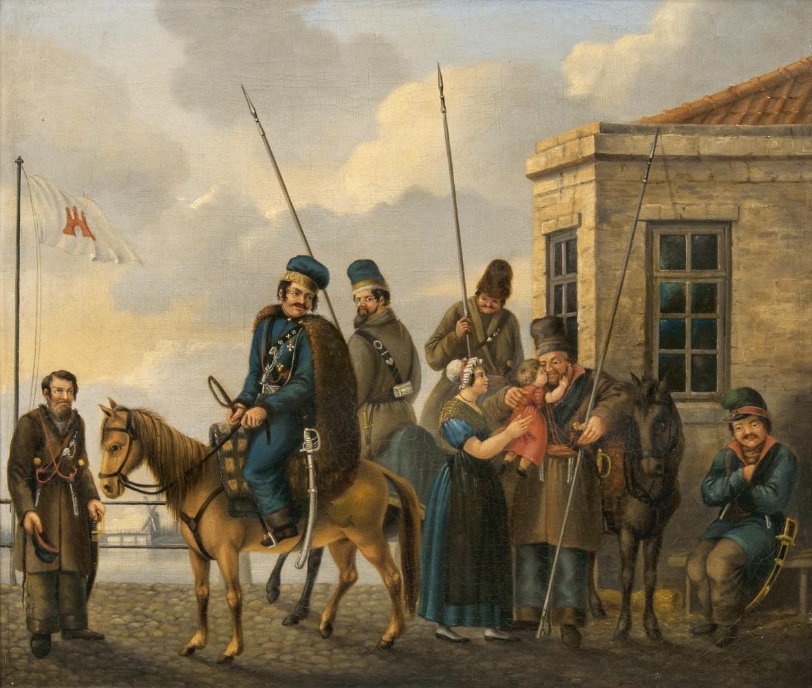 Cossacks in Hamburg