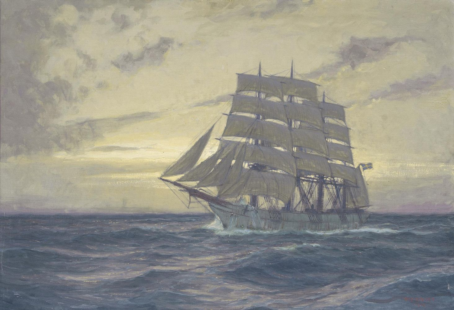 Swedish Sailing Ship