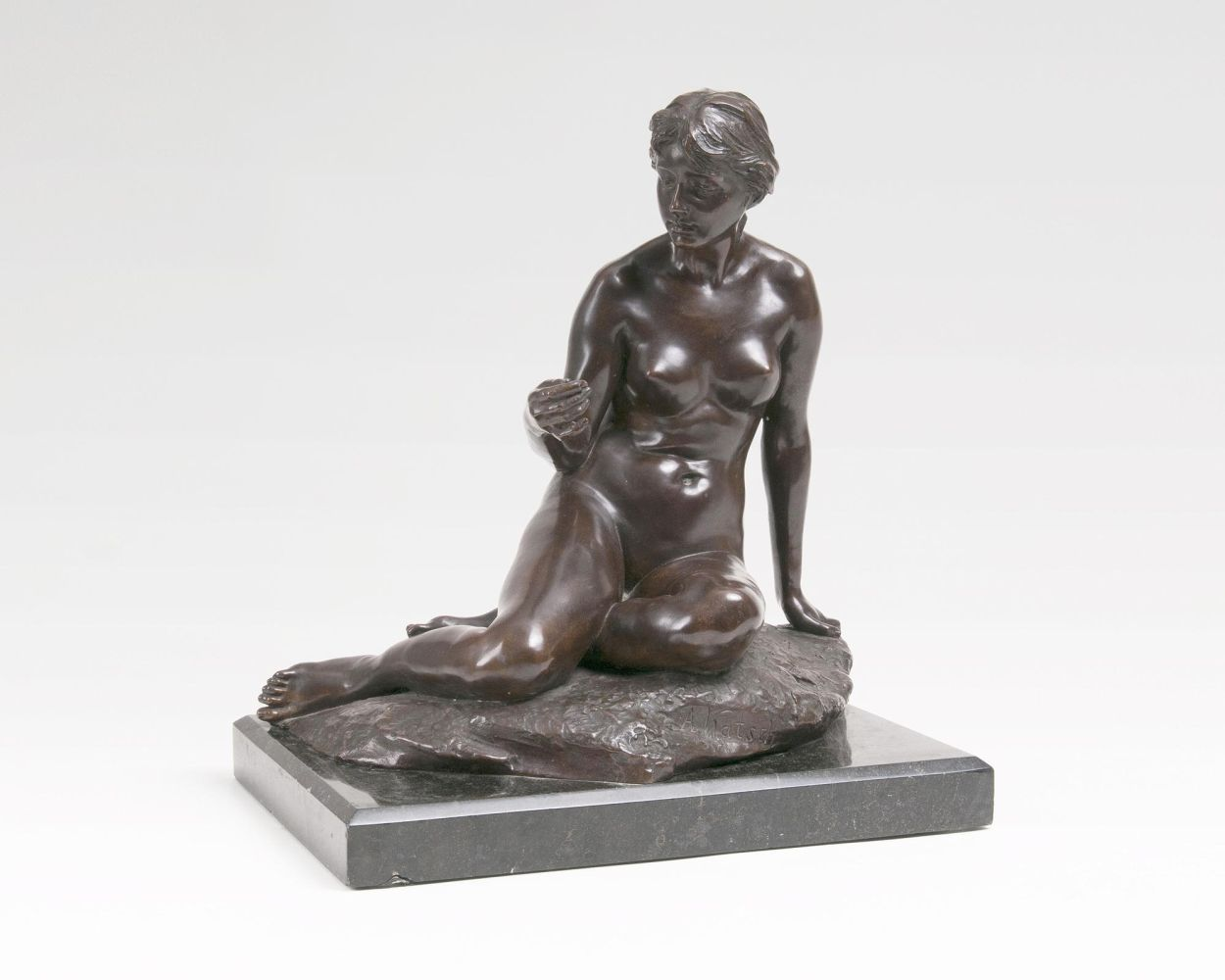 A Figure 'Sitting Female Nude'