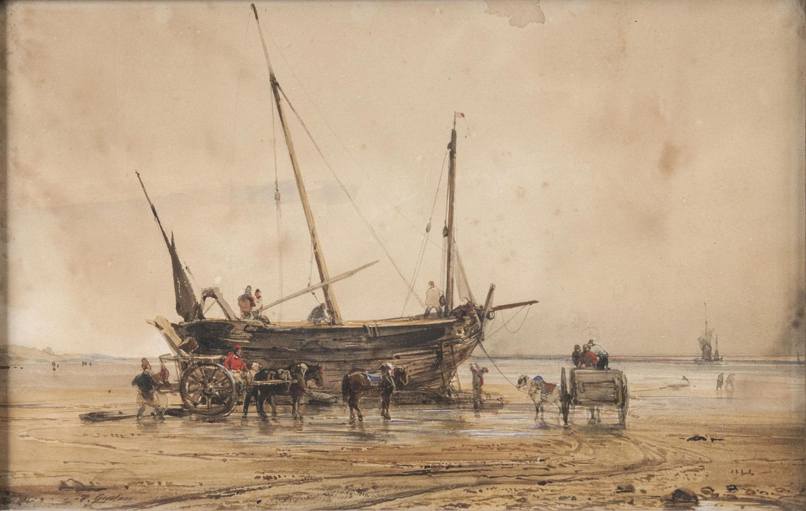 Ship on the Beach