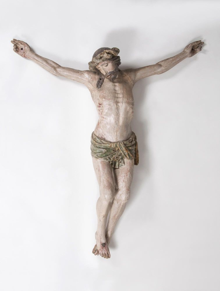 A Large Christ Crucified