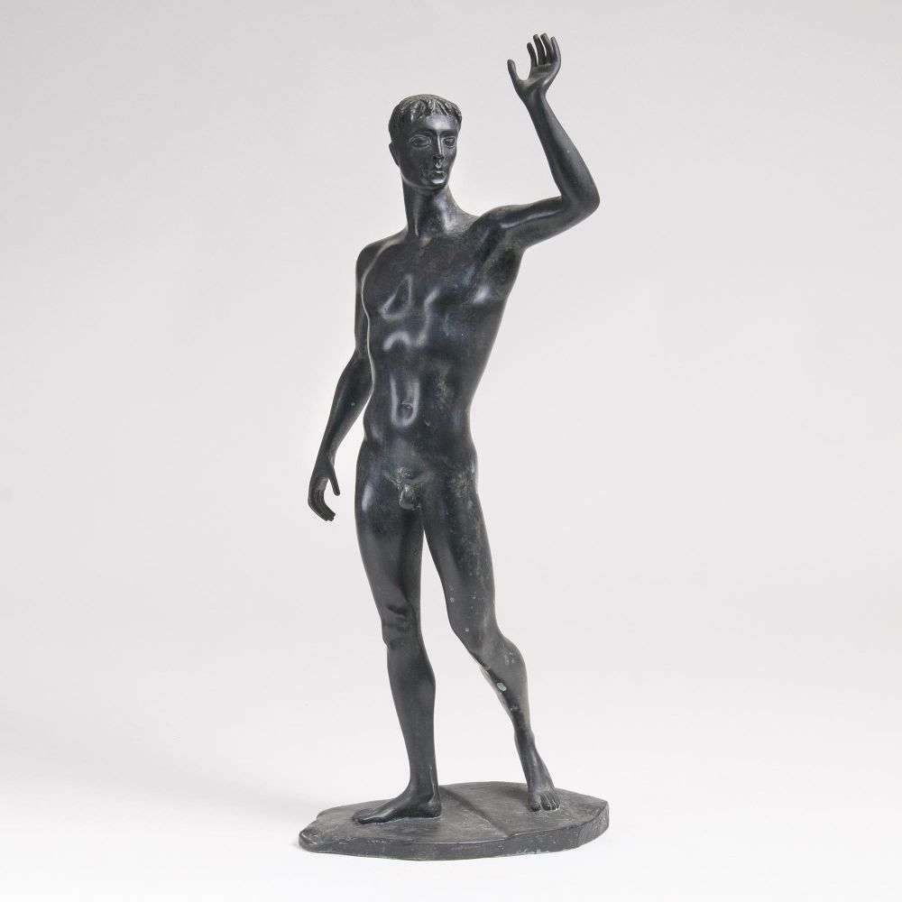 A Figure 'Standing Nude Youth'