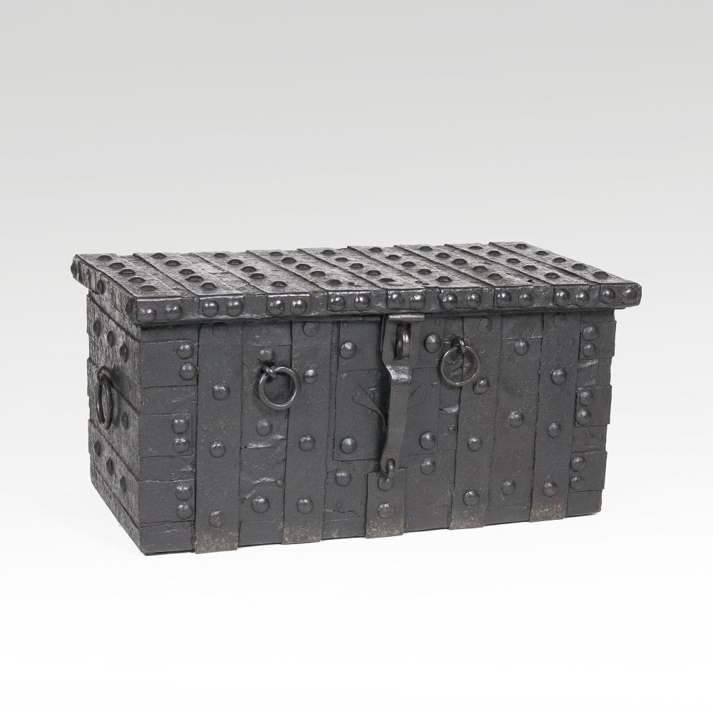Baroque Iron Chest