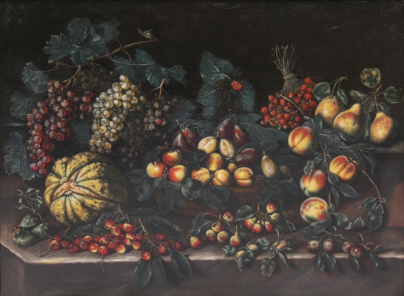 Large Still Life with Fruits