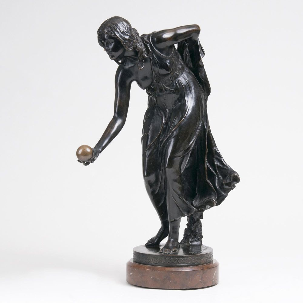 A Figure 'Female Ball Player'