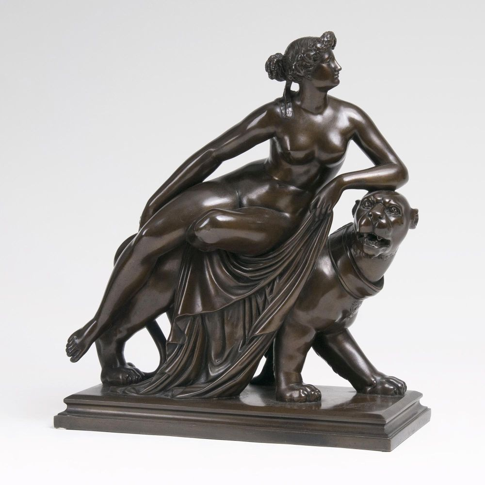 A Figure 'Ariadne on Panther' after Dannecker