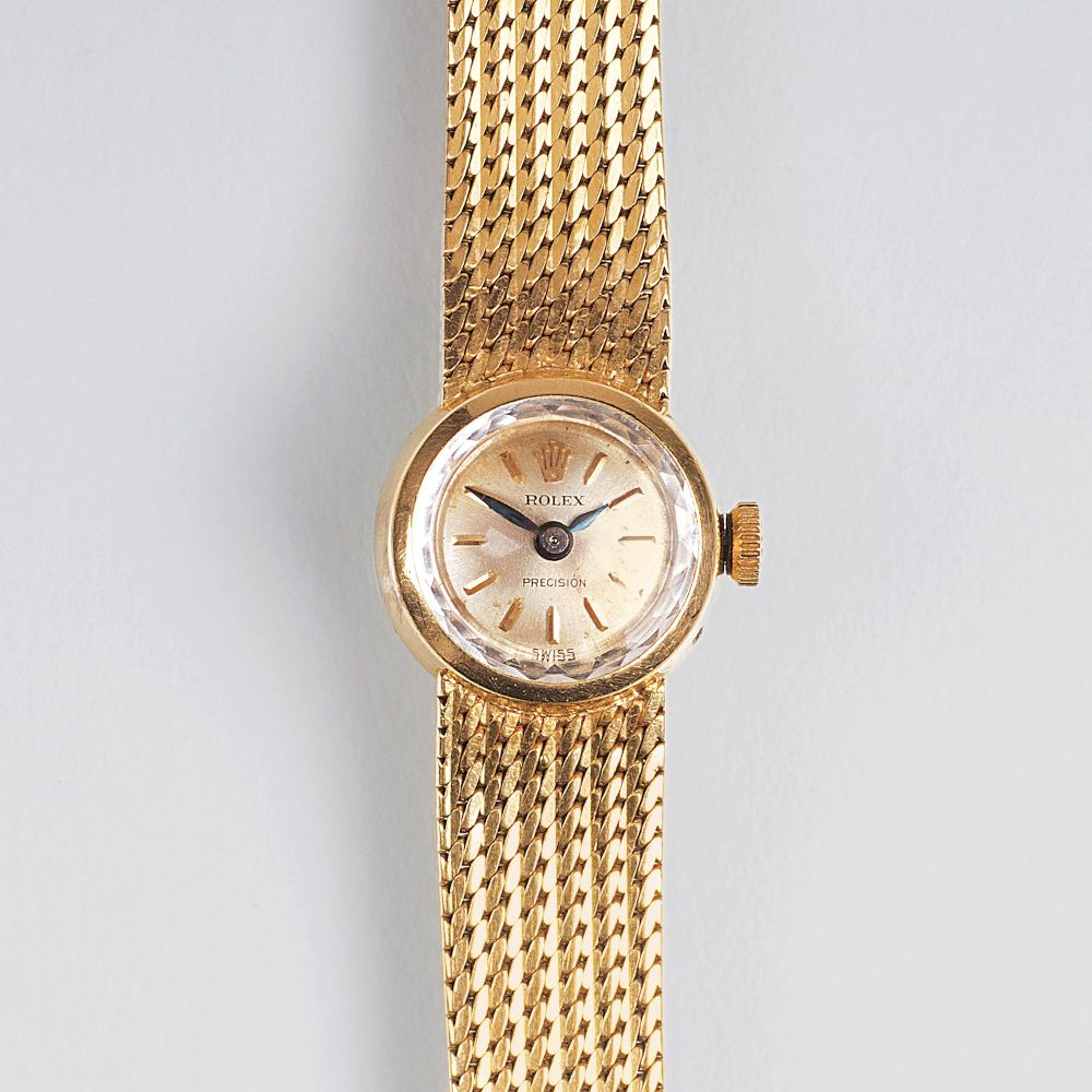 A Vintage Ladie's Wristwatch 'Precision'