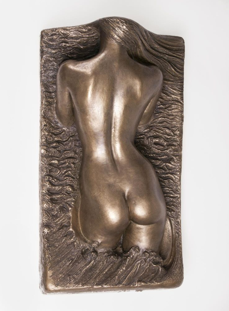 A Relief 'Female Torso in Back View'