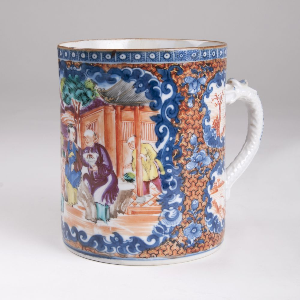 A Jug with Figural Scene