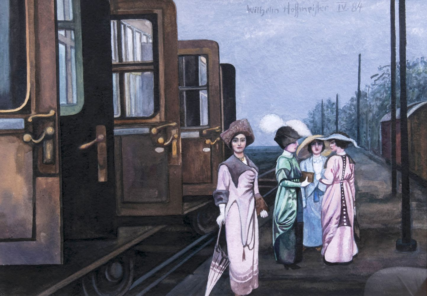 Ladies in a Station