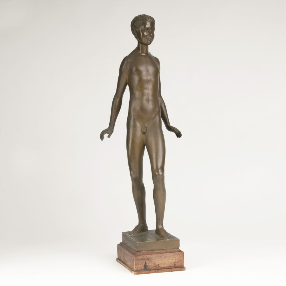 A Large Figure 'Standing Male Nude'