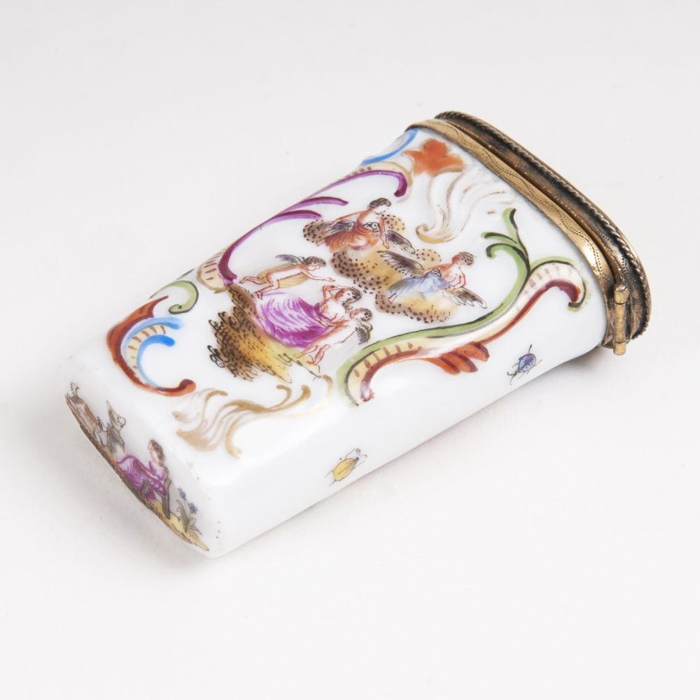 A Needle Case with Mythological Scenes