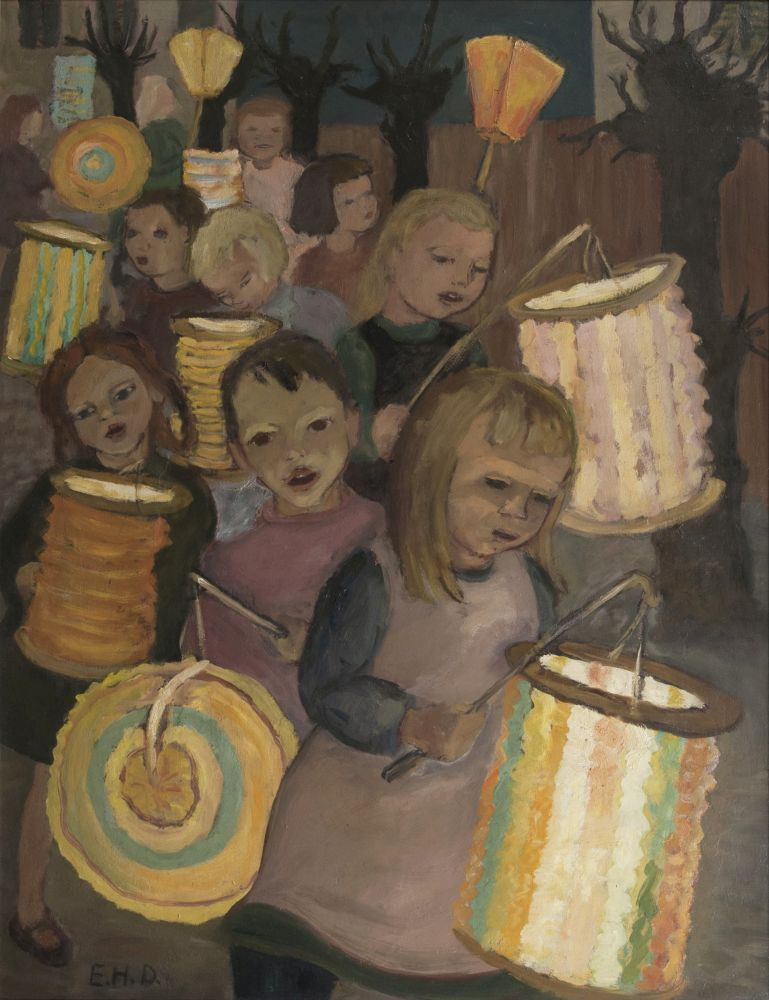 Children with Lanterns
