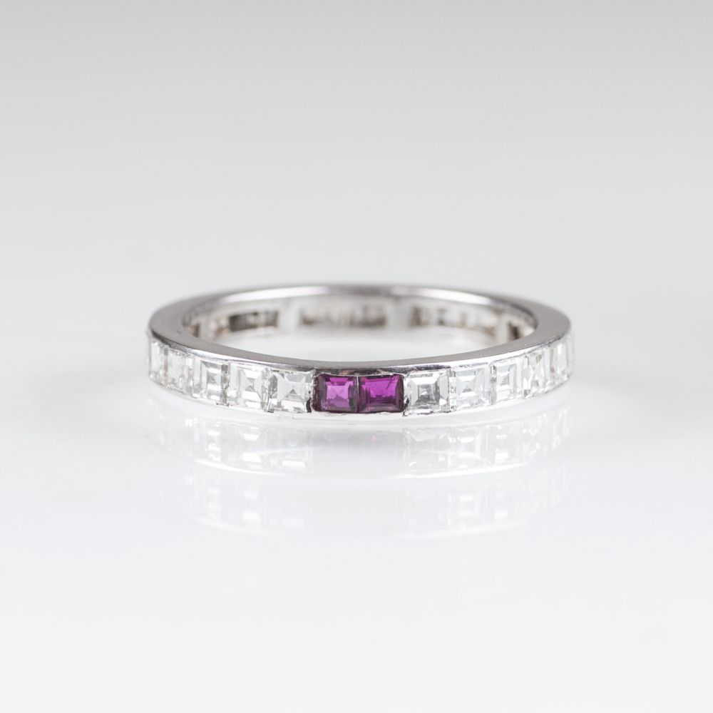 Memory-Diamant-Ring
