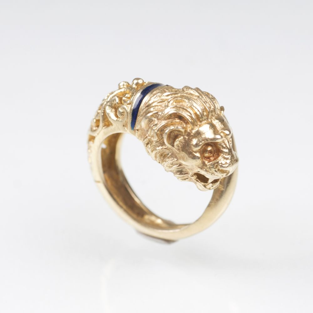 A Golden Ring 'Lion's Head'