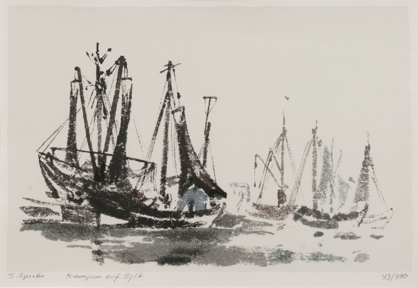 Sylt Fishing Boats
