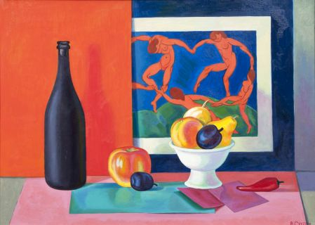 Still Life with Dance after Matisse