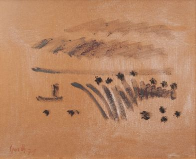 Maram Grasses, Ship, Clouds