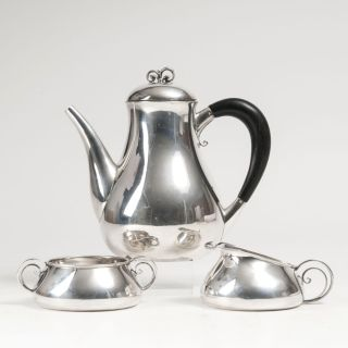 An Art-déco Coffee Set