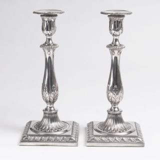 A Pair of Candleholders