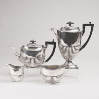 An English Coffee- and Tea-Set