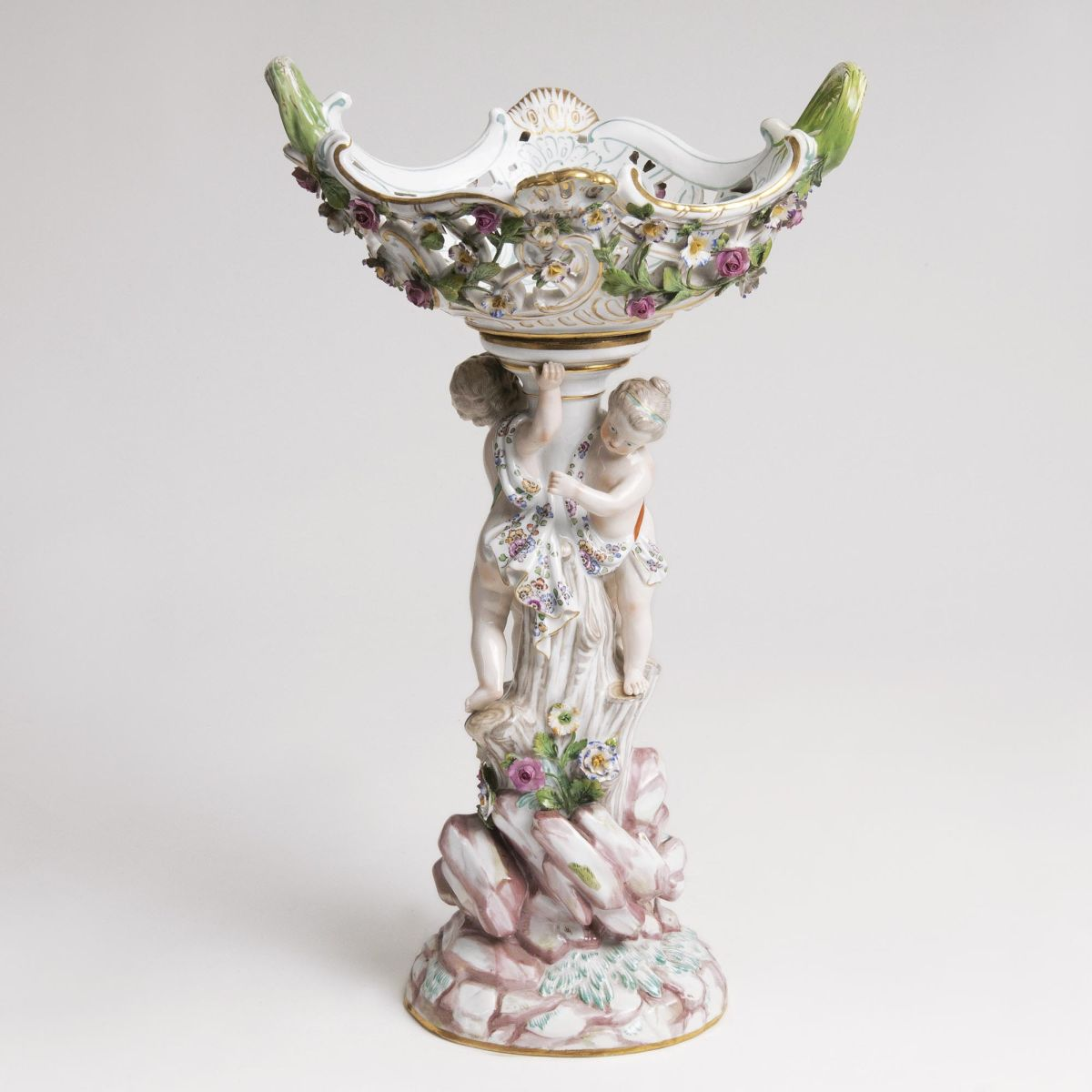A  Centrepiece with Putti