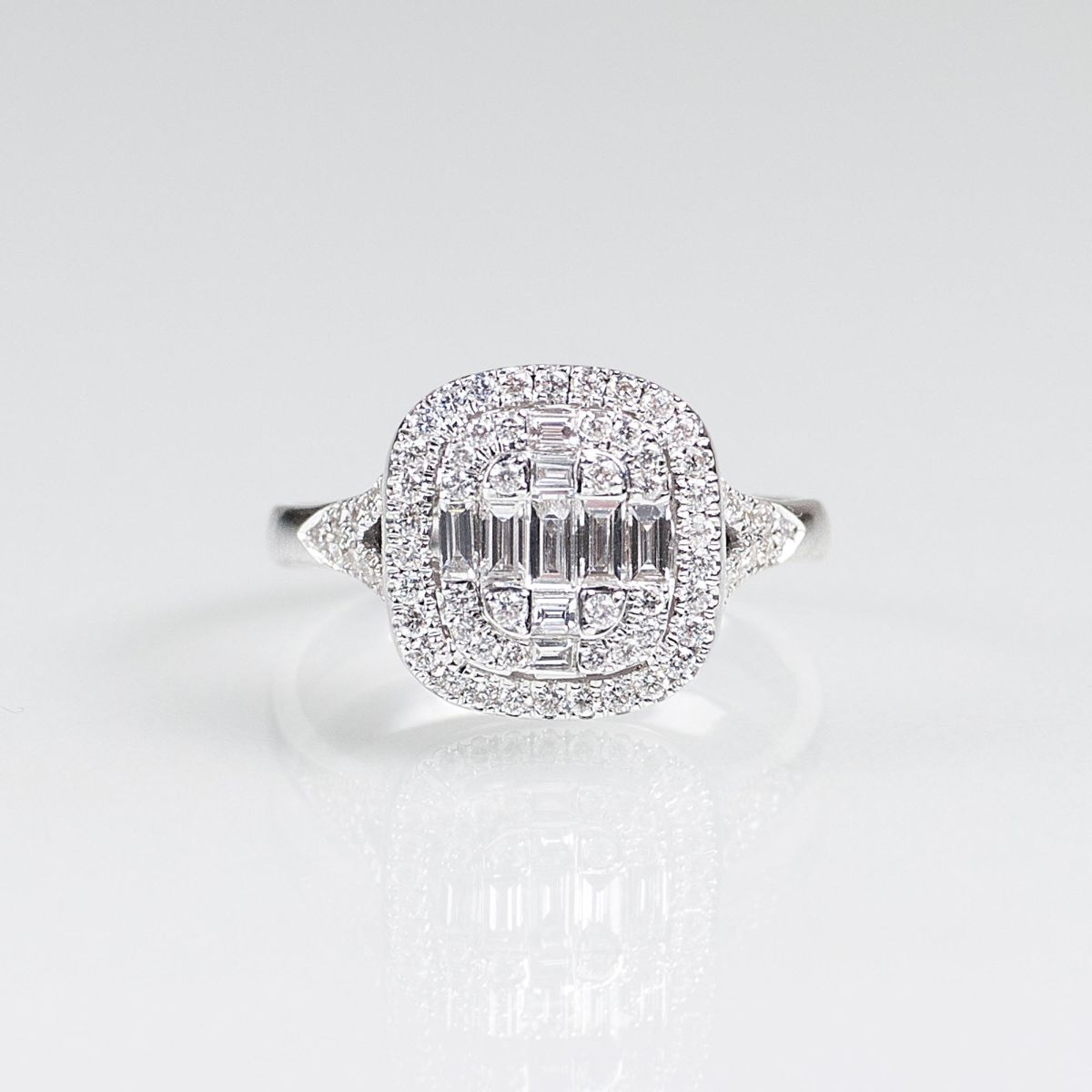 Diamant-Brillant-Ring