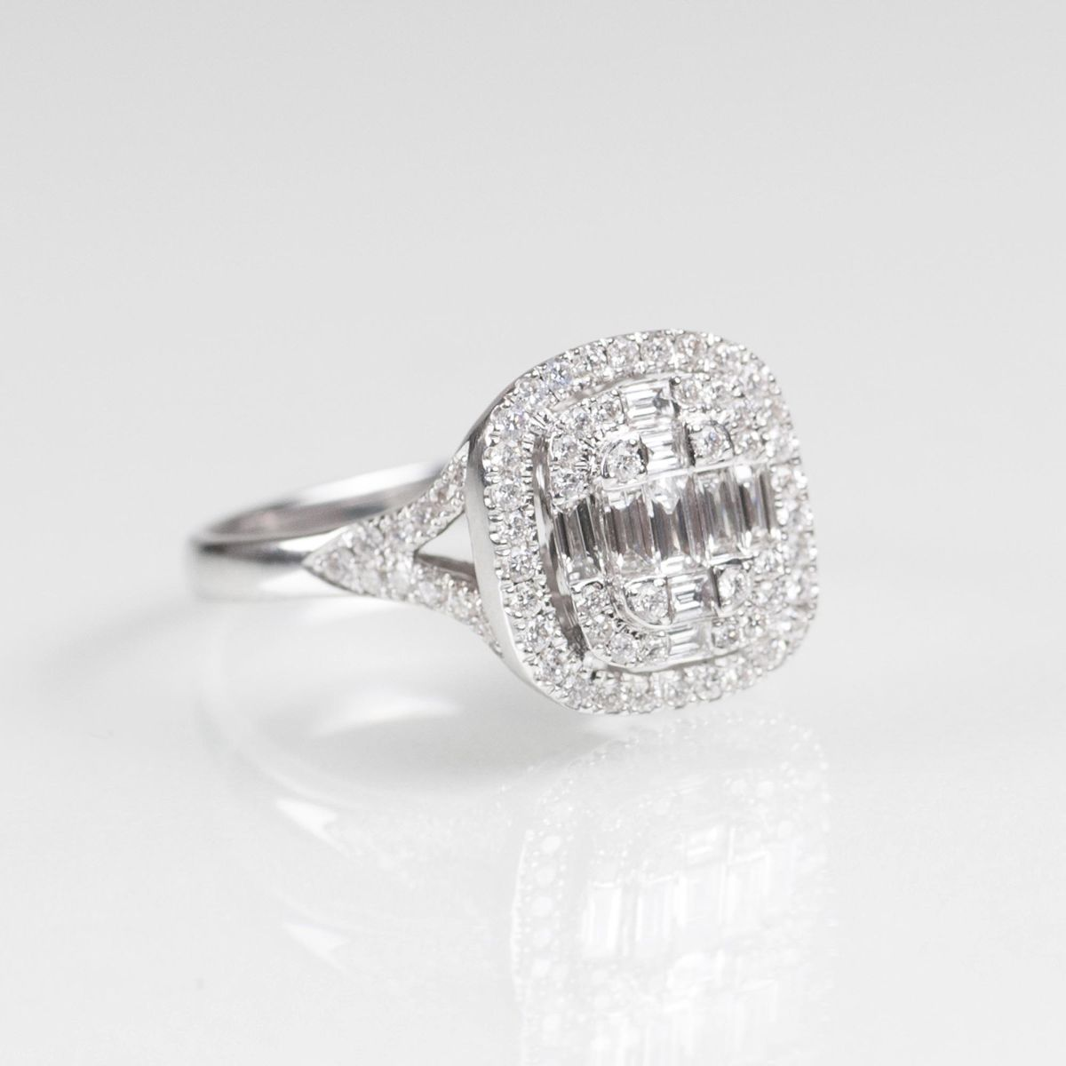 Diamant-Brillant-Ring  - Bild 2