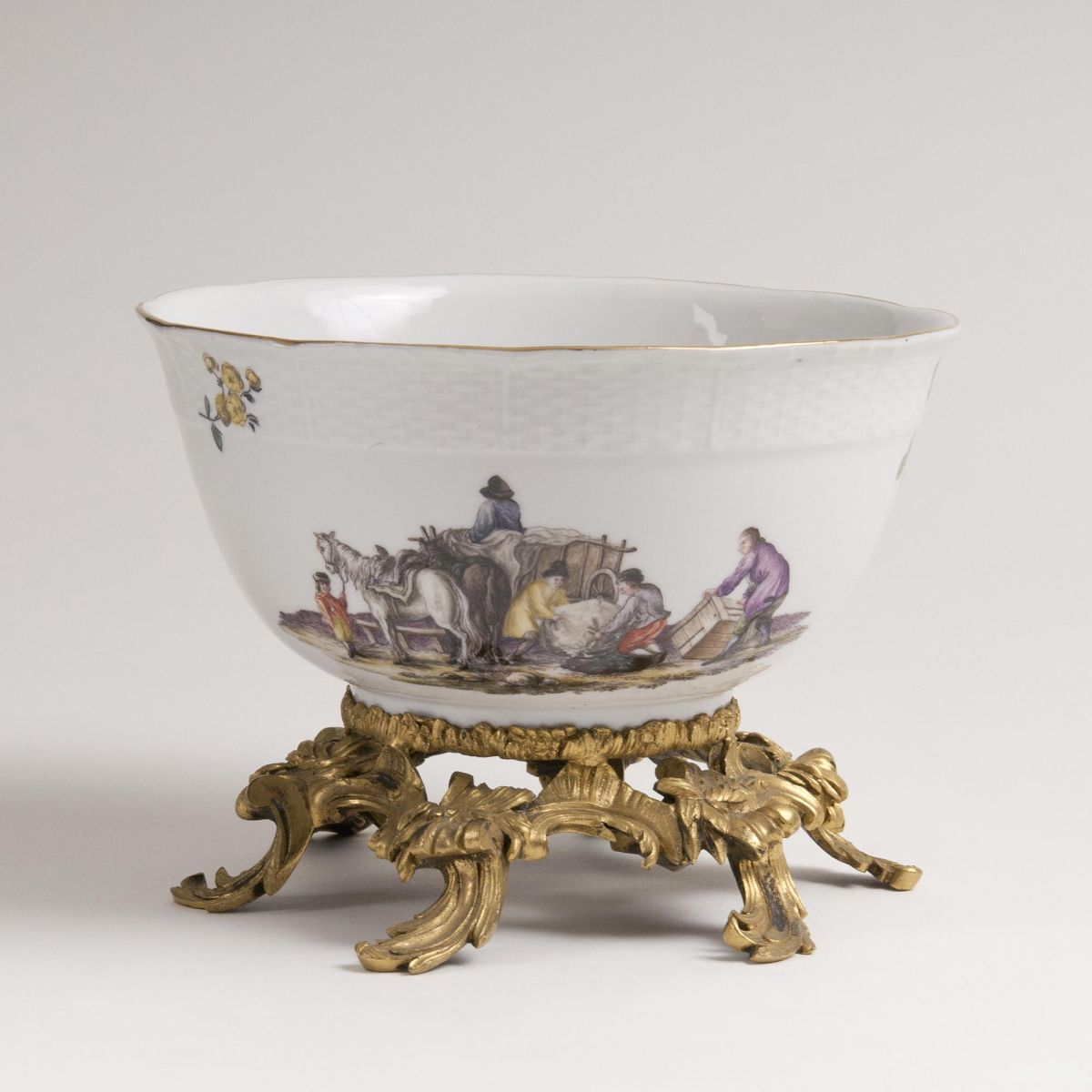 A Rare Bowl with Ormolu Mount  - Bild 2