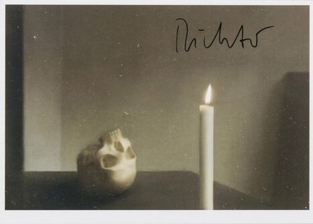 Skull with Candle
