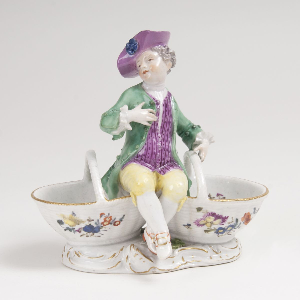 A Condiment Bowl with Little Gentleman