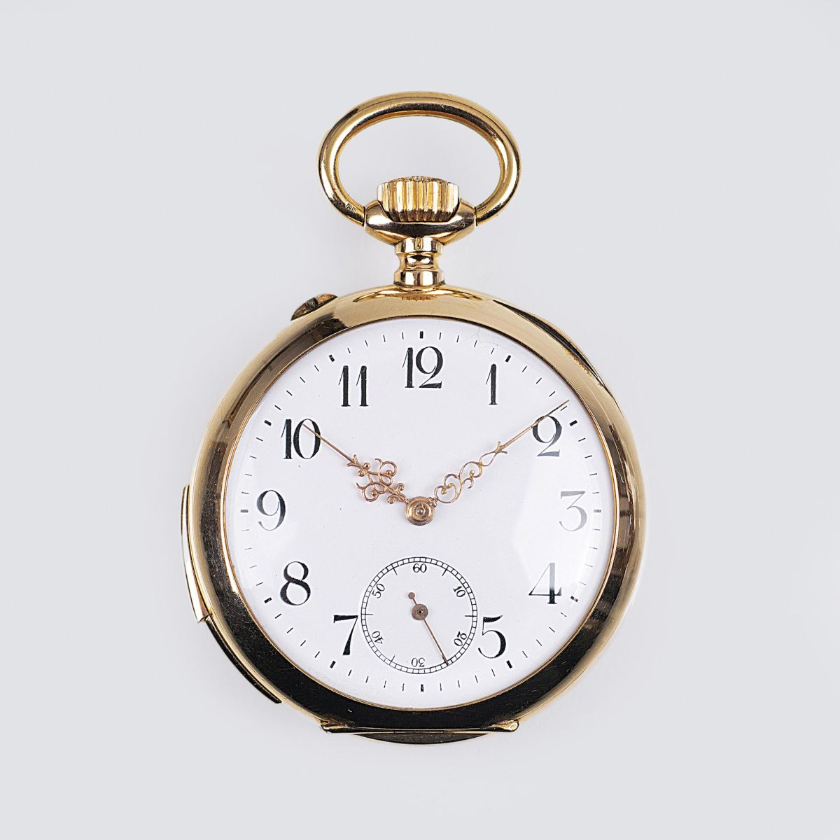 A Pocket Watch with Small Second and Repetition by Astra